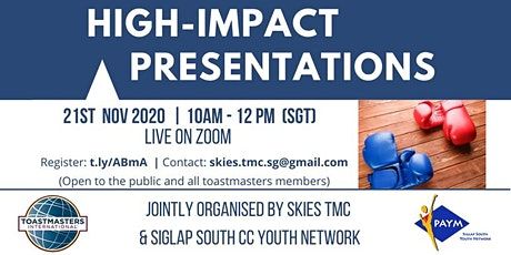 High-Impact Presentations tickets