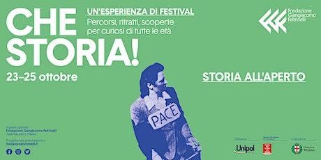Festival Che Storia! Passeggiata urbana - I luoghi delle comunità cittadine biglietti