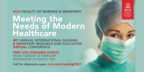 Meeting the Needs of Modern Healthcare LIVE AND ON DEMAND tickets