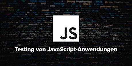 Testing von JavaScript-Anwendungen – zweitägiger Workshop Tickets