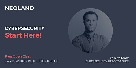 Cybersecurity: Start Here! boletos