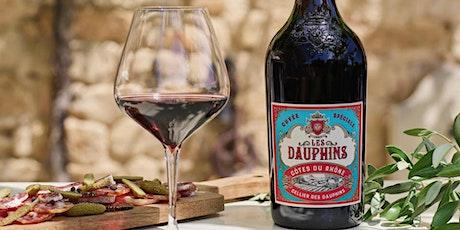Les Dauphins online wine tasting tickets