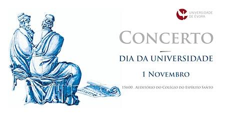Concerto 1 de novembro bilhetes