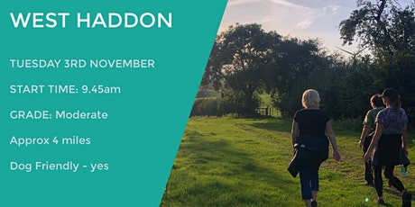 WEST HADDON WANDER | 4 MILES | MODERATE | NORTHANTS tickets