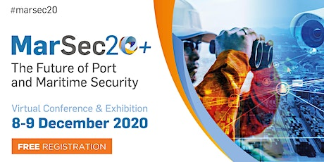 MarSec20+  |  The Future of Port and Maritime Security tickets