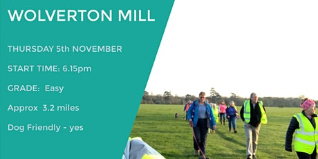 WOLVERTON MILL RIVER WALK | 3.2 MILES | EASY tickets