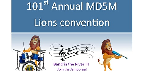 MD5M  Lions Bend in the River III Convention 2021 tickets