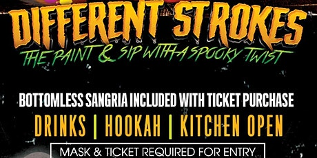 DIFFERENT STROKES MIAMI: PAINT + SIP + CARVE tickets
