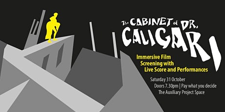 The Cabinet of Dr. Caligari - Immersive Film Screening with Live Score tickets
