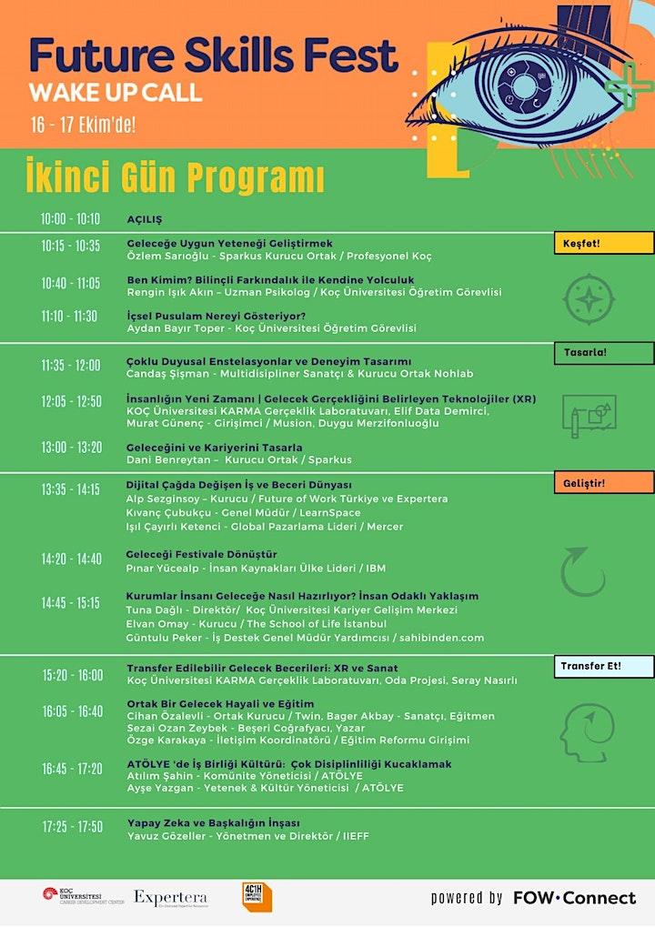 16 - 17 Ekim Future Skills Fest   Wake Up Call image