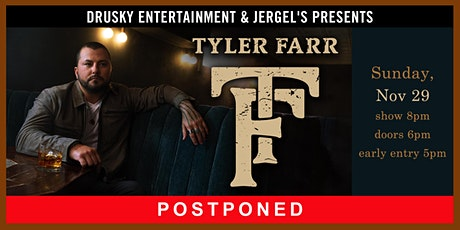 POSTPONED - Tyler Farr tickets