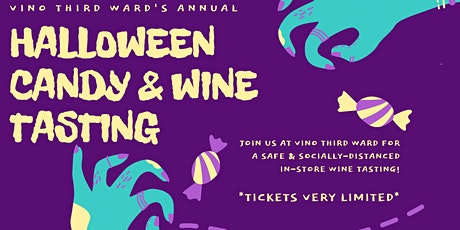 Halloween Candy & Wine Tasting tickets