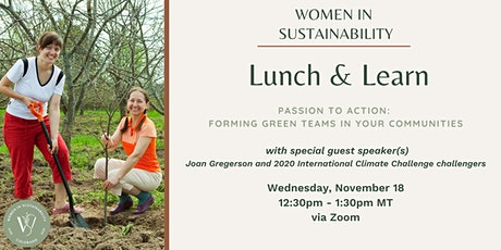WIS - Passion to Action: Forming Green Teams in Your Community tickets