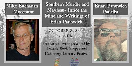 Brian Panowich & Dahlonega Literary Festival tickets