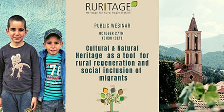 CNH as a Tool  for Rural Regeneration and Social Inclusion of Migrants tickets