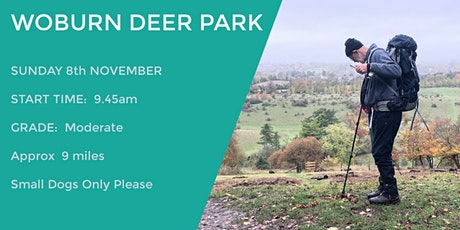 WOBURN DEER PARK WALK | 9 MILES | MODERATE tickets