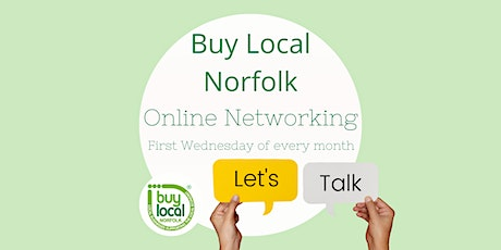 Buy Local Norfolk FREE Online Networking - 2nd December 2020 tickets