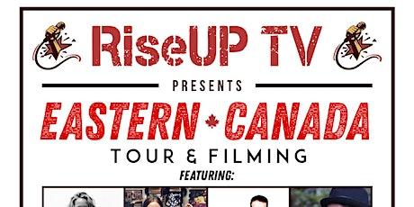 RiseUP TV Tour - Spices on Sydenham, Brantford, ON  **Hallowe'en tickets