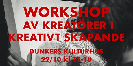 Workshop av kreatörer i kreativt skapande! tickets