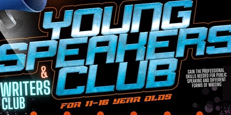 Young Speakers & Writers Club (Ages 11-16 | Online | Sundays 11am-12pm) tickets