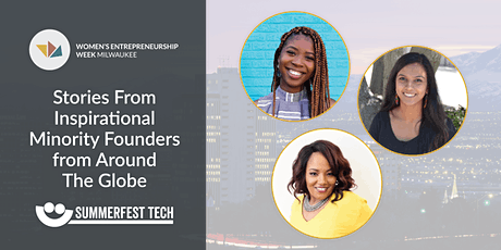 Stories From Inspirational Minority Founders from Around The Globe tickets