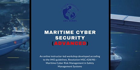 Maritime Cyber Security: Advanced tickets