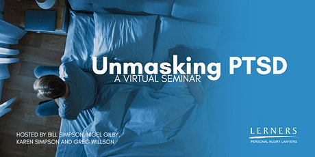 Unmasking PTSD: Identification, Diagnosis, and Treatment — October 28th tickets