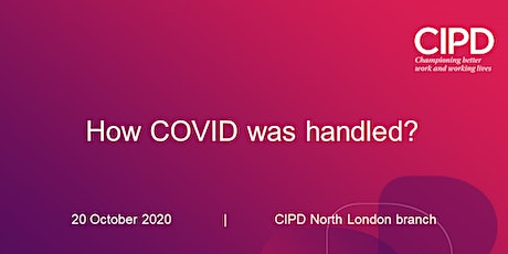How COVID was handled? tickets