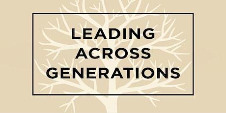 Leading Across Generations (Virtual Class) tickets
