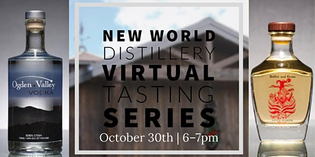 New World Distillery Virtual Tasting and Cocktail Hour tickets