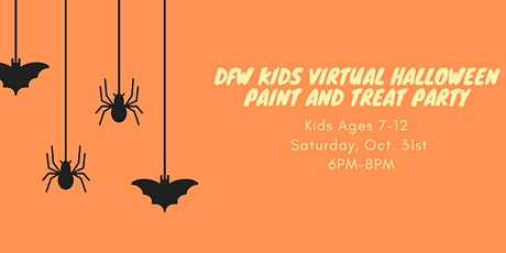 DFW Kids Virtual Halloween Paint  and Treat Party tickets