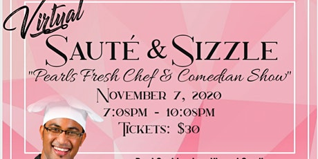 Pearls Fresh Chef & Comedy Show tickets