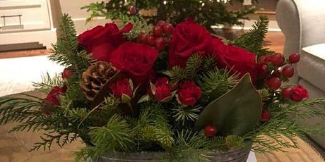 Fa-la-la Holiday Floral Arrangement tickets