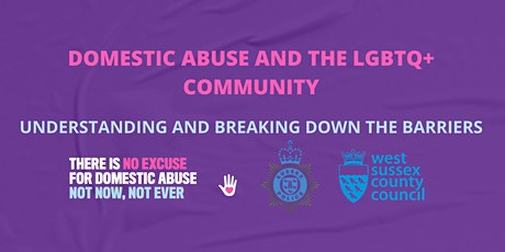 Domestic Abuse and the LGBTQ+ Community tickets