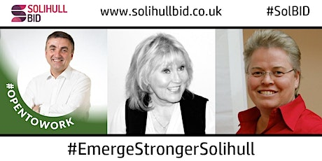 #EmergeStrongerSolihull - Recruitment & Job Search Focus tickets