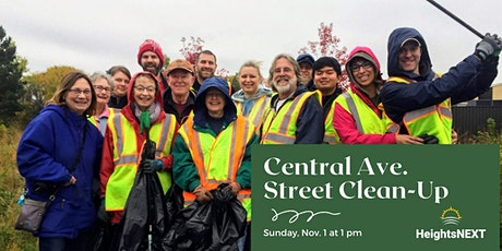Central Ave. Street Clean-Up tickets