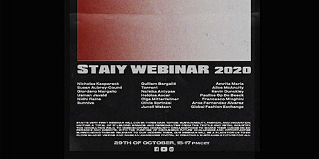 Staiy Webinar 2020 tickets