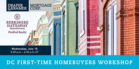 Free Event! DC FIRST-TIME HOMEBUYERS WORKSHOP tickets