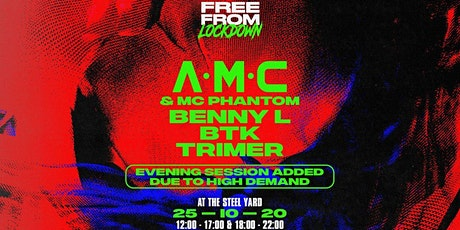 Free From Lockdown: A.M.C Part 2 tickets
