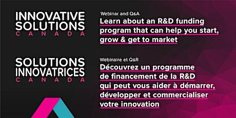 Innovative Solutions Canada General Webinar tickets