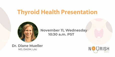 Thyroid Health Presentation tickets