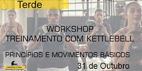 Workshop - Treinamento com Kettlebell (Tarde) ingressos