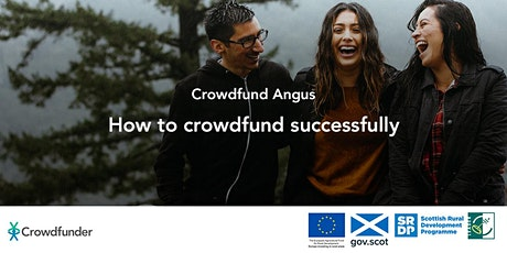 Crowdfund Angus: How to crowdfund successfully tickets