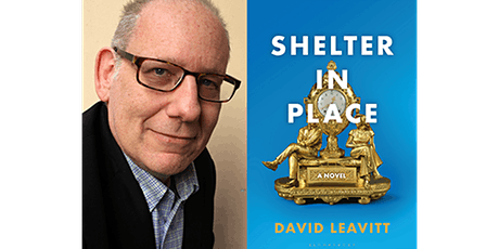 Shelter in Place with DAVID LEAVITT tickets