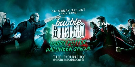 BUBBLE BINGO: HARRY POTTER HALLOWEEN SPECIAL tickets
