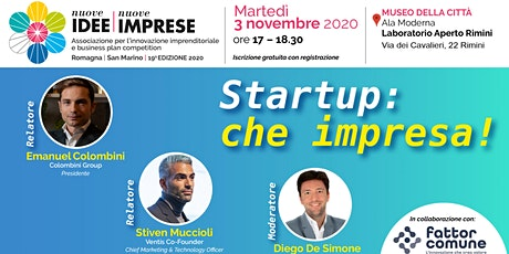 Startup: che impresa! biglietti
