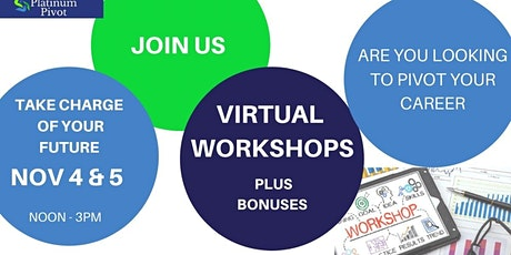 Platinum Pivot Virtual Workshops tickets