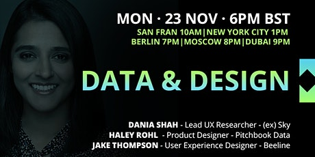 UX Crunch at Home: Data & Design tickets