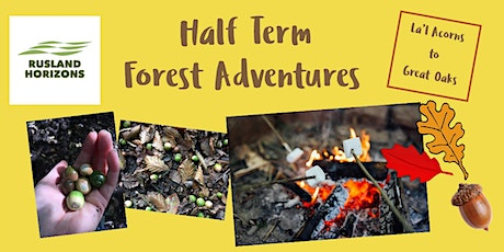Half Term Forest Adventures tickets