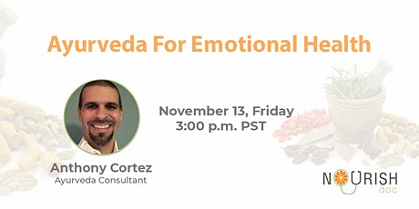 Ayurveda for Emotional Health tickets